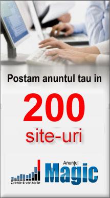 postam anunturi in 300 siteuri de anunturi